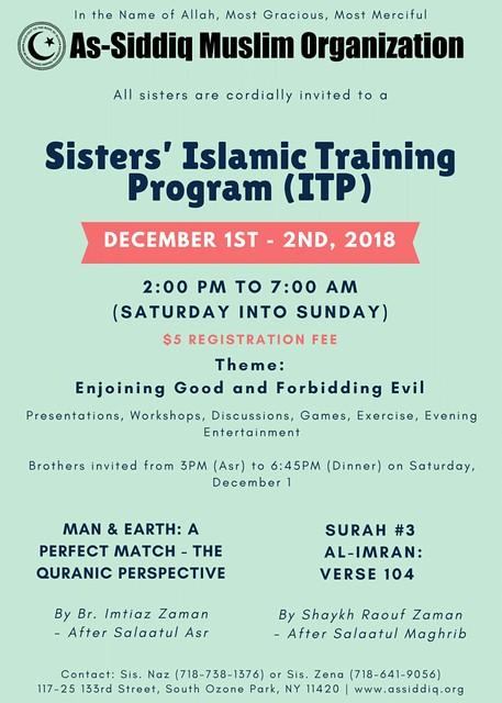 Sisters' Islamic Training Program PRINT-1