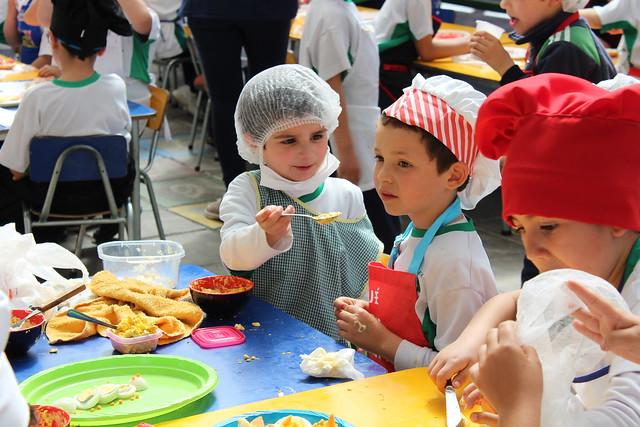 Día de la Cocina - PreKidner y Kinder