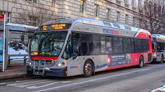 WMATA Metrobus 2014 NABI 42 BRT Hybrid #8040