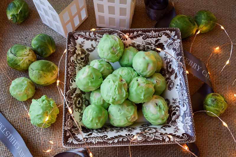 Boozy Brussels Sprout Truffles