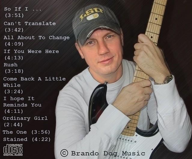 Timothy Priest CD promo