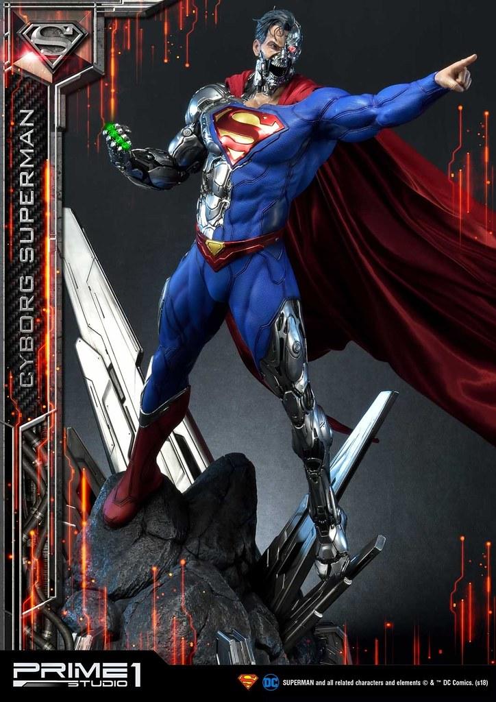 Prime 1 Studio DC Comics【生化超人】サイボーグスーパーマン / Cyborg Superman MMDC-32 1/3 比例全身雕像作品 普通版/EX版
