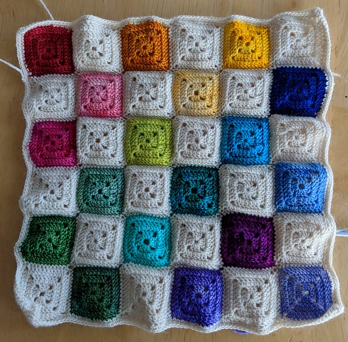 large swatch or small blanket