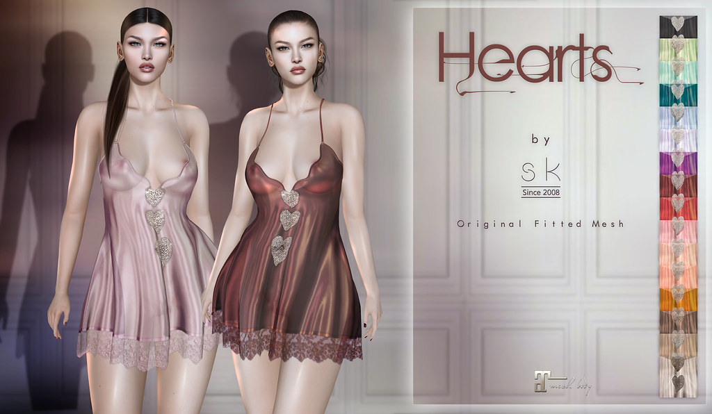 Hearts by SK poster