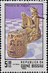 Guinea Bissau (08) 1983 Chess