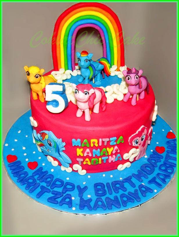 Cake My Little Pony MARITZA 18 cm