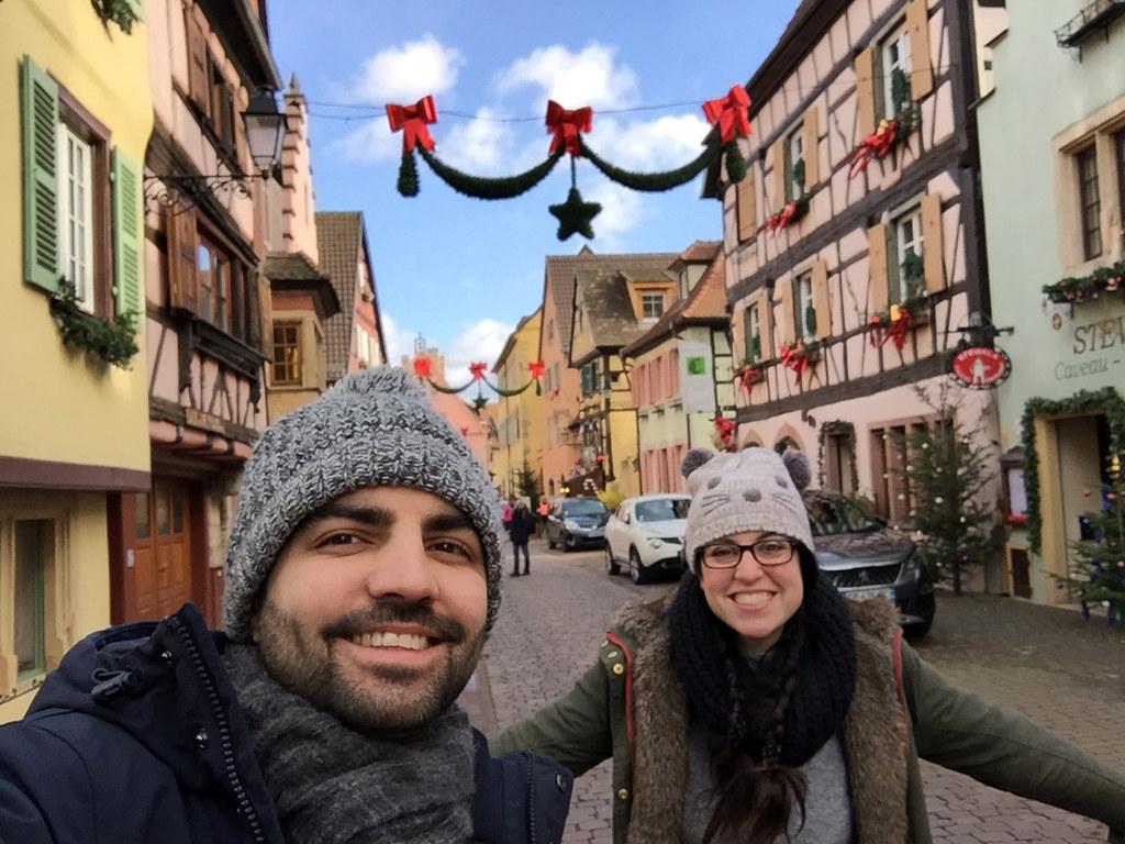 · Calle comercial de Turckheim · Pueblos más bonitos de Alsacia · Alsacia en Navidad ·