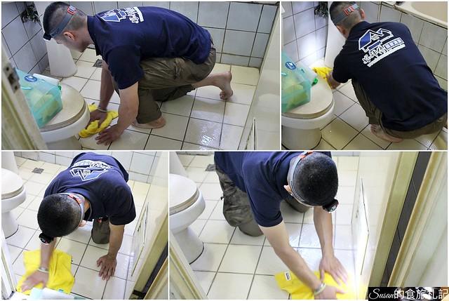 好師傅居家清潔浴廁隱形止滑地板8