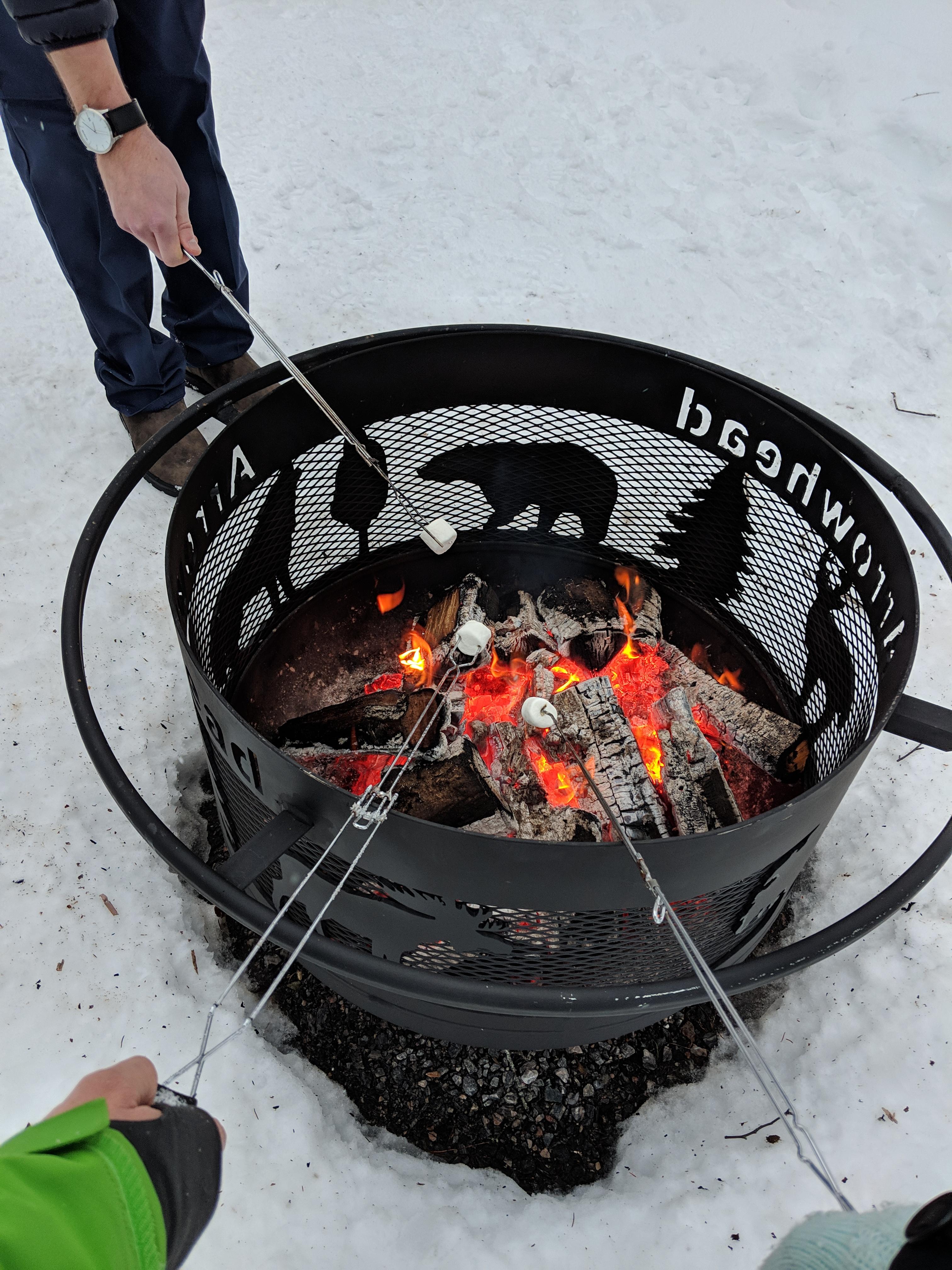 Arrowhead Provincial Park - campfire