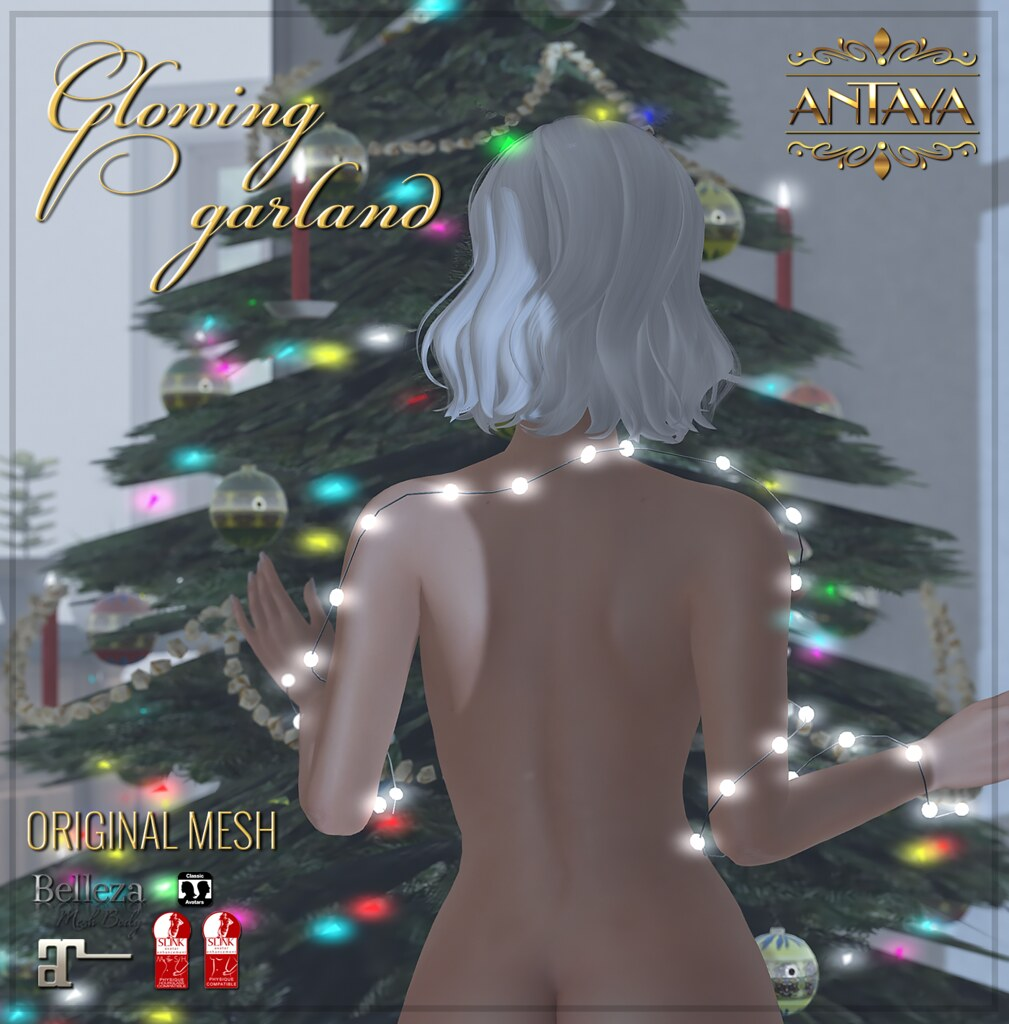 :: ANTAYA :: Glowing garland – Advent gift