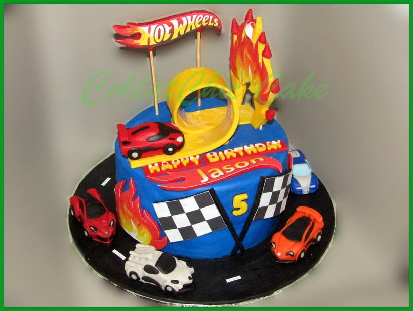 Cake Hotwheels Jason 15 cm
