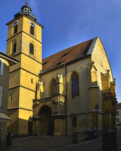 Die katholische Stadtpfarrkirche St. Johannes