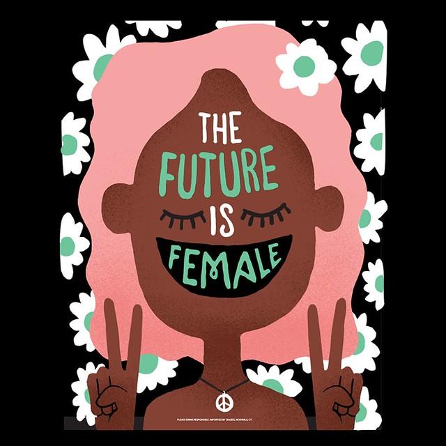 De toekomst is vrouwelijke propaganda