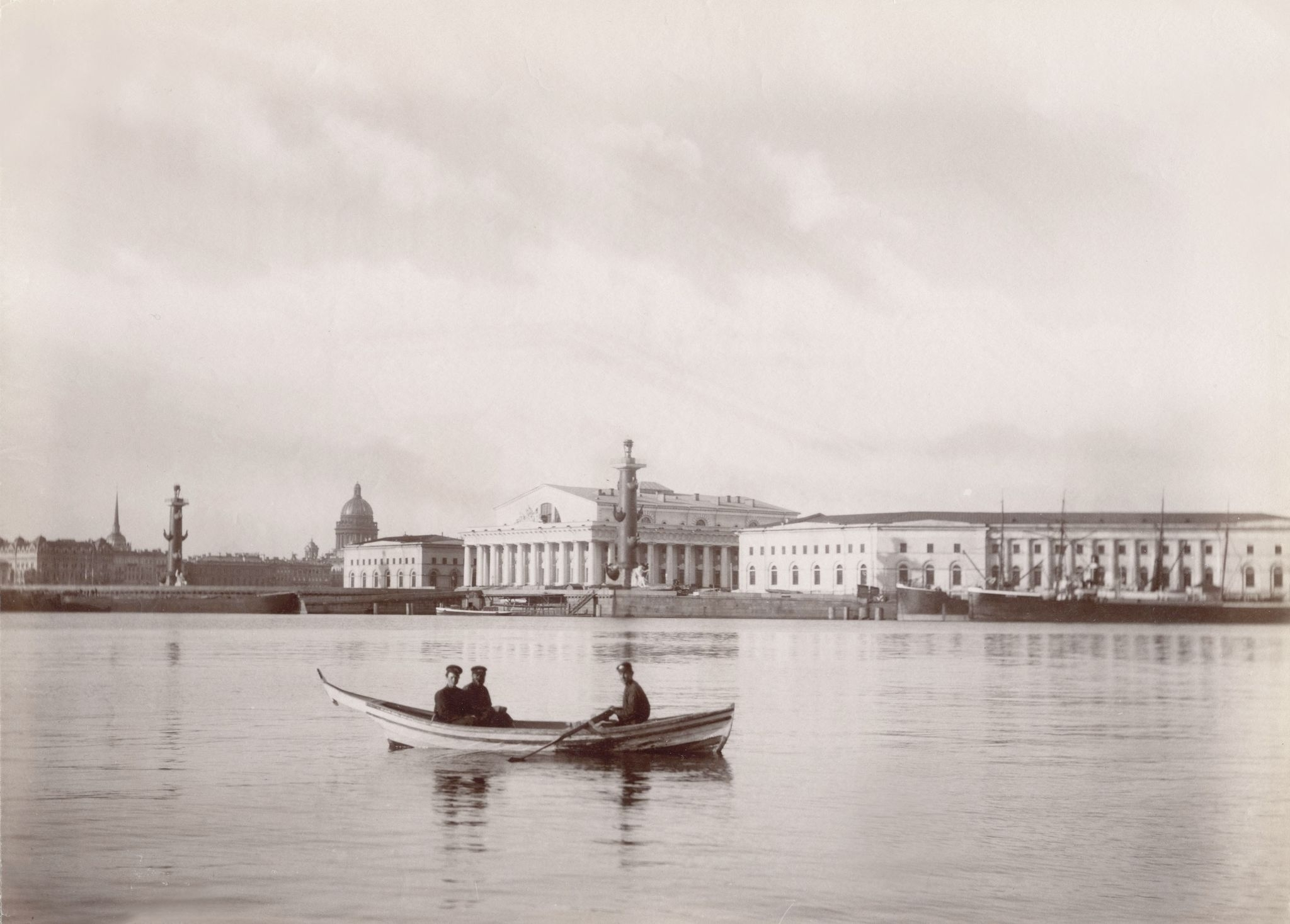 Биржа и таможня. 1887