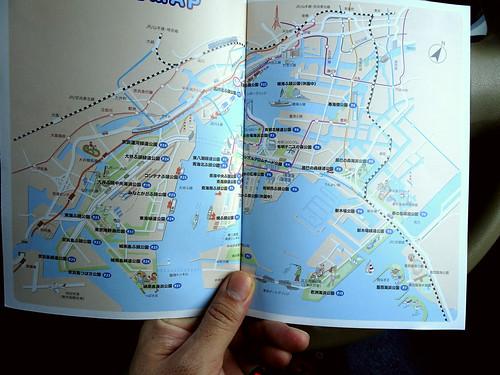 東京海上公園マップ