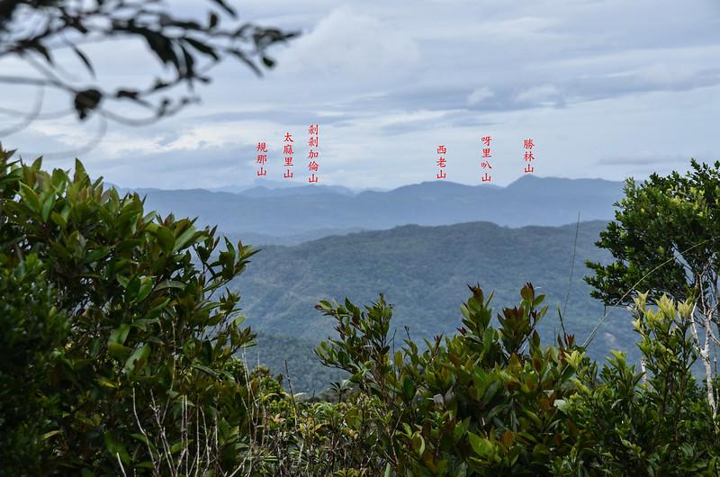 茶留凡山山頂東北展望 (4)