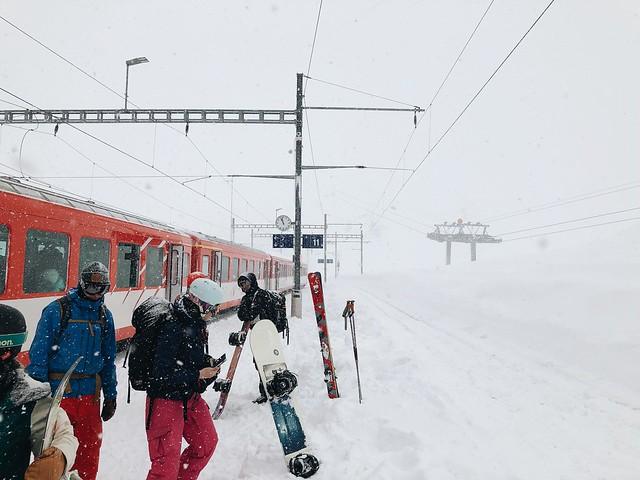 Matterhorn -Gotthard Bahn, Switzerland