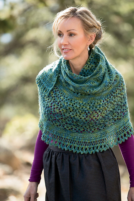 Monsoon Shawl by Angela Tong