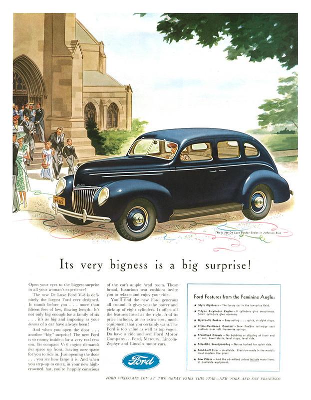 1939 Ford De Luxe Fordor Sedan