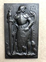 1915 German many enemies medal
