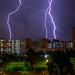 Lightning in Hougang
