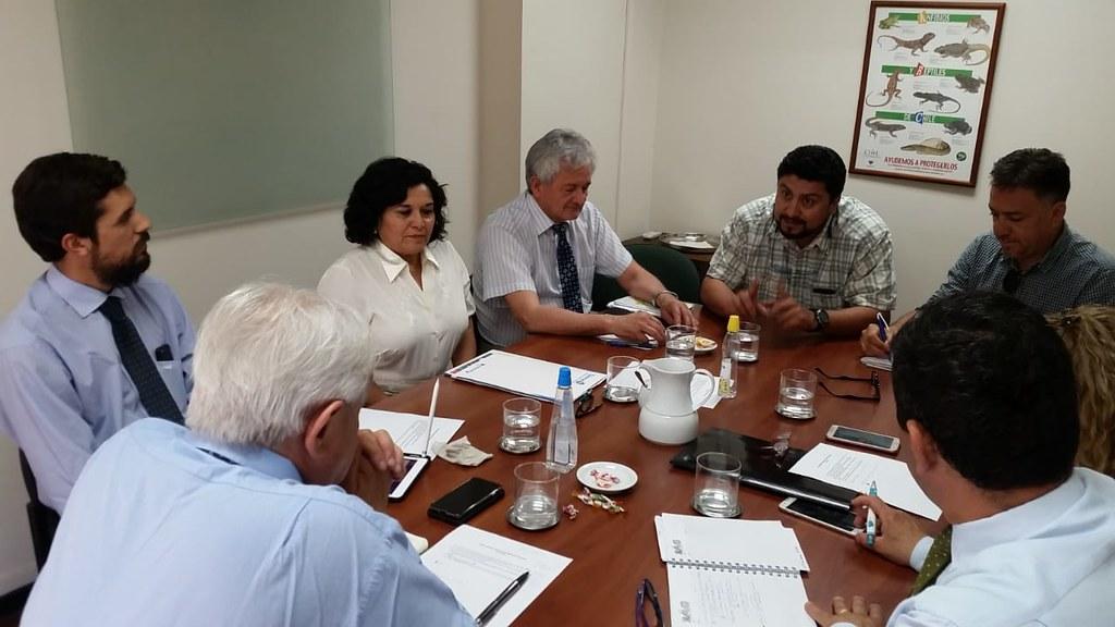 Nuevo encuentro mensual con el director del SAG, Horacio Bórquez – 21 Noviembre 2018