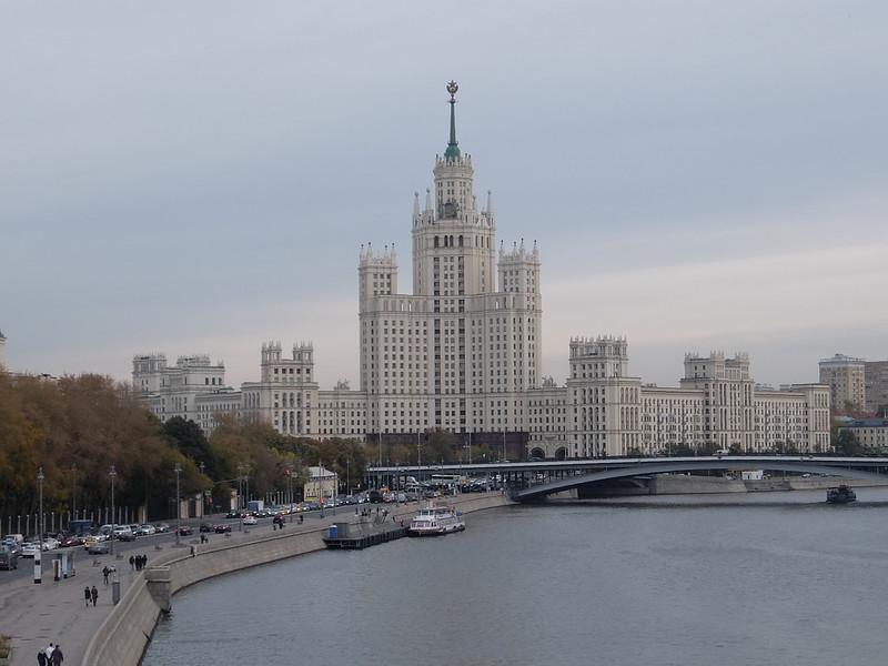 Москва - Зарядье - Вид с обзорной площадки
