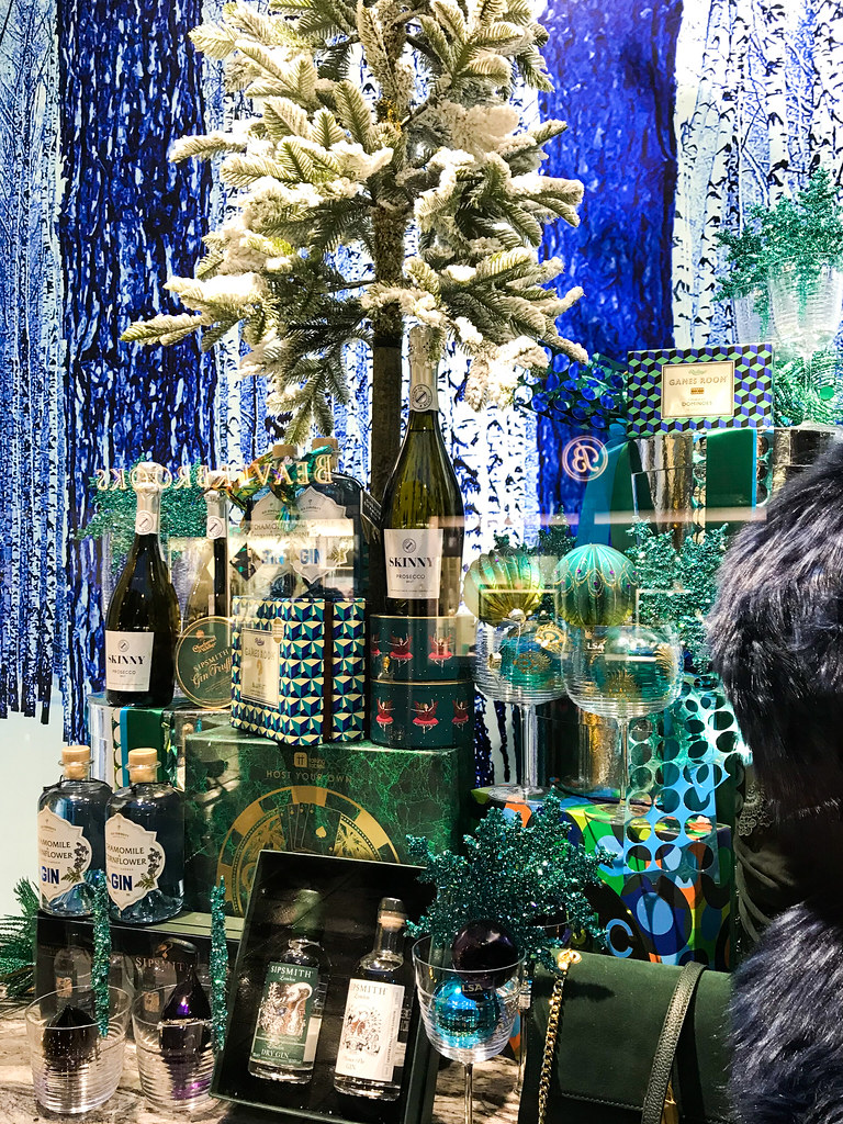 Boozy Fenwick Christmas Windows, Canterbury