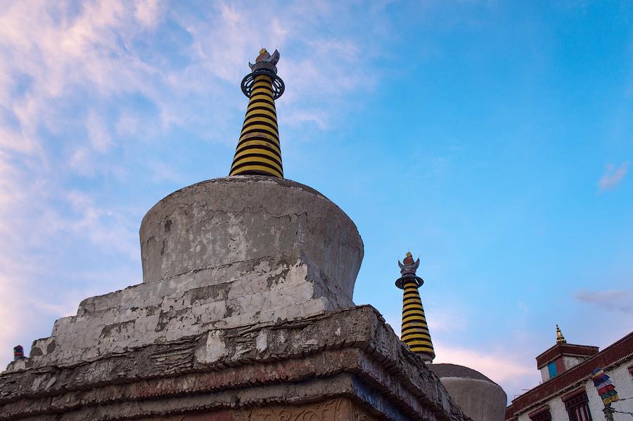 Ламаюру гомпа (монастырь Ламаюру) © Kartzon Dream - авторские путешествия, авторские туры в Ладакх, тревел фото, тревел видео, фототуры