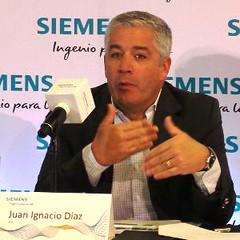 Juan Ignacio Díaz, Siemens