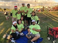 Hawaiian Electric at the West Oahu Electric Light Parade – Dec. 8, 2018:  All our volunteers ready to participate in the parade!