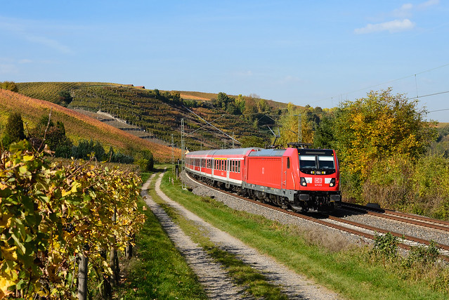 147 015, RB Osterburken – Stuttgart Hbf, Lauffen am Neckar