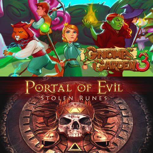 Gnomes Garden 3: The thief of castles & Portal of Evil