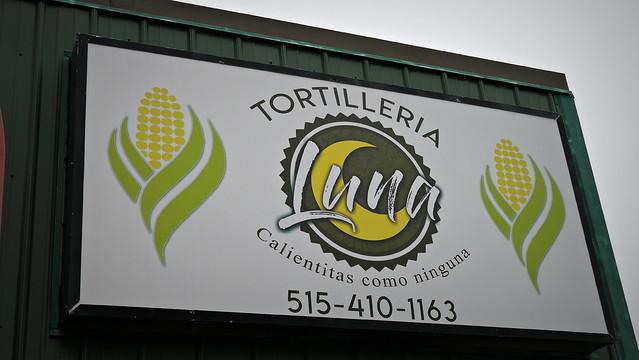 Tortillería Luna in Des Moines, Iowa