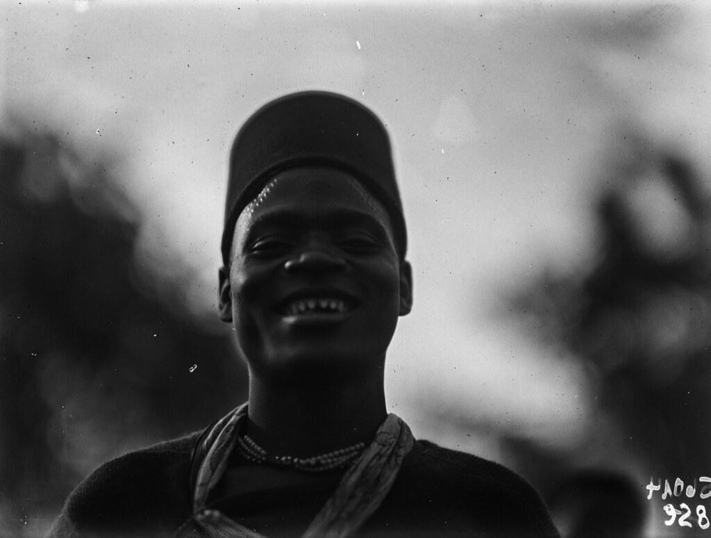 Чама. Портрет мужчины вазенга