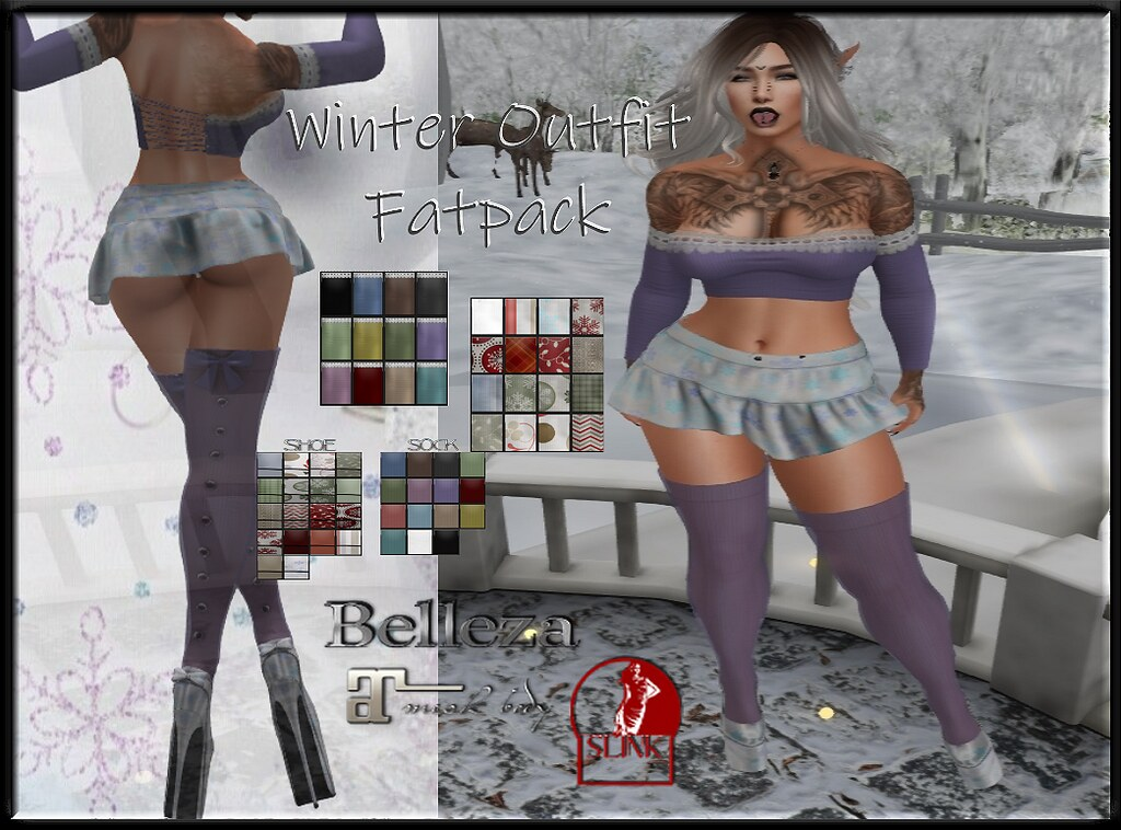 Winter Outfit Fatpack AD - TeleportHub.com Live!