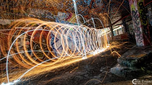 Lightpainting in London