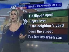 My local weather station, telling it in real life terms.