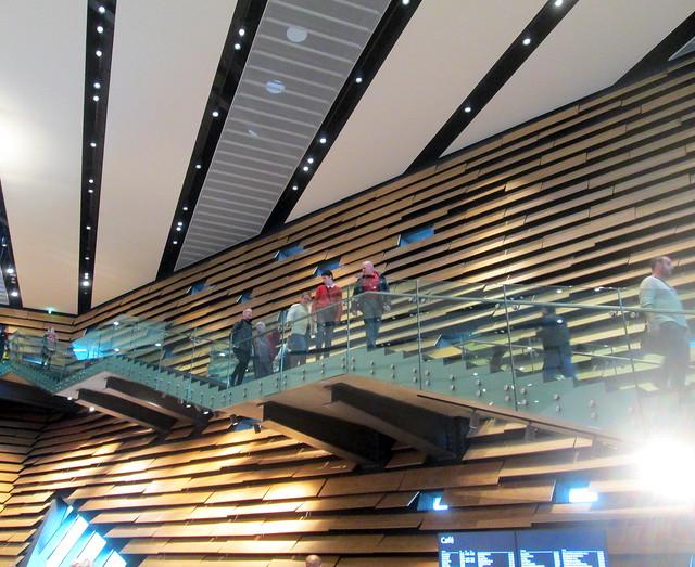 V&A Interior ,staircase, Dundee