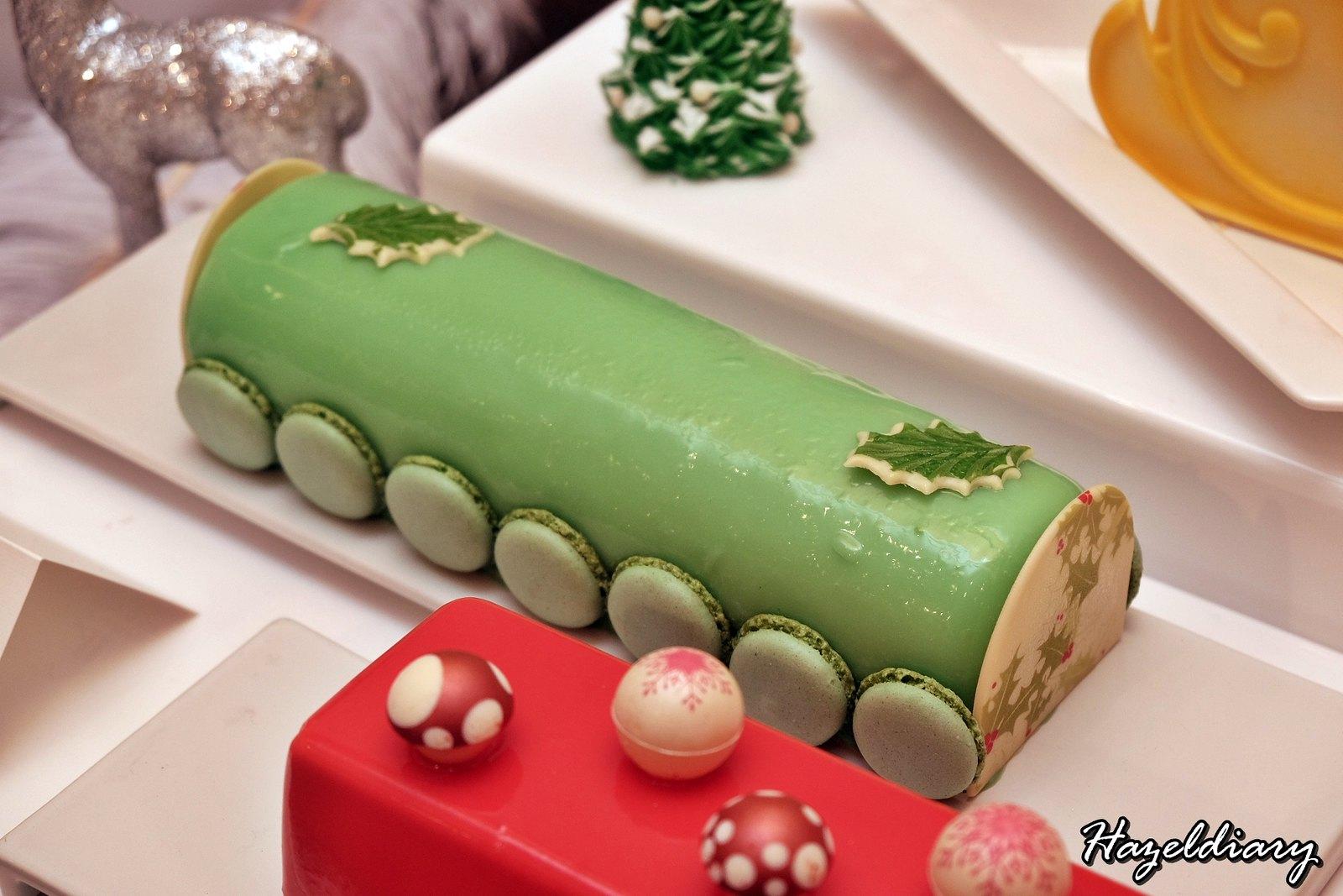 Singapore Marriott Tang Hotel-Christmas Dessert-Logcake-2