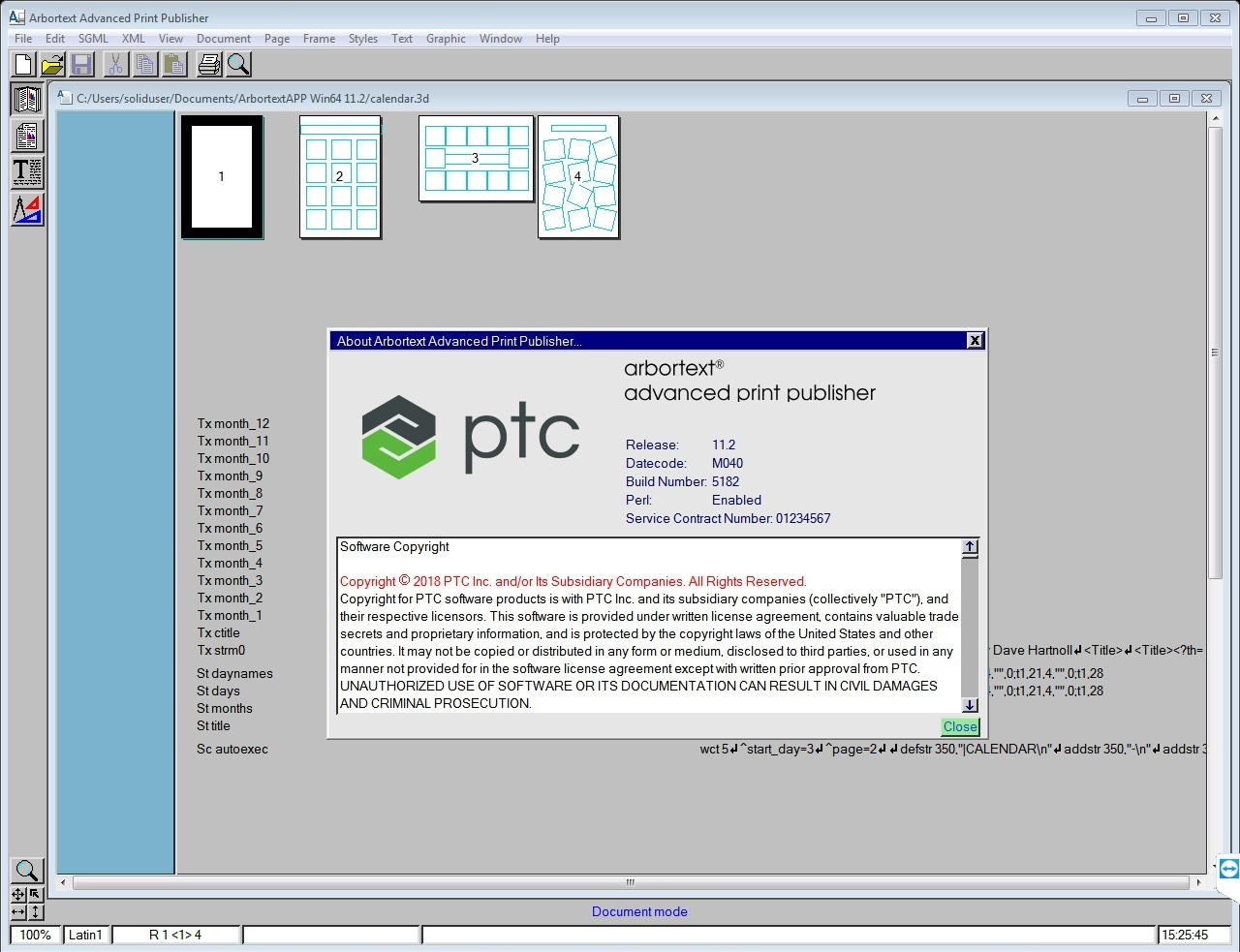 Download PTC Arbortext Advanced Print Publisher 11.2 M040 x86 x64 full