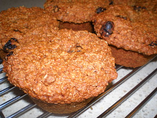 Nana Marg's Quick Mix Bran Muffins