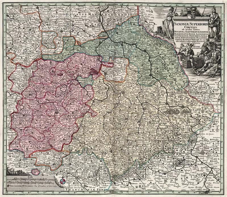 Matthaeus Seutter - Saxoniae Superioris (1730)