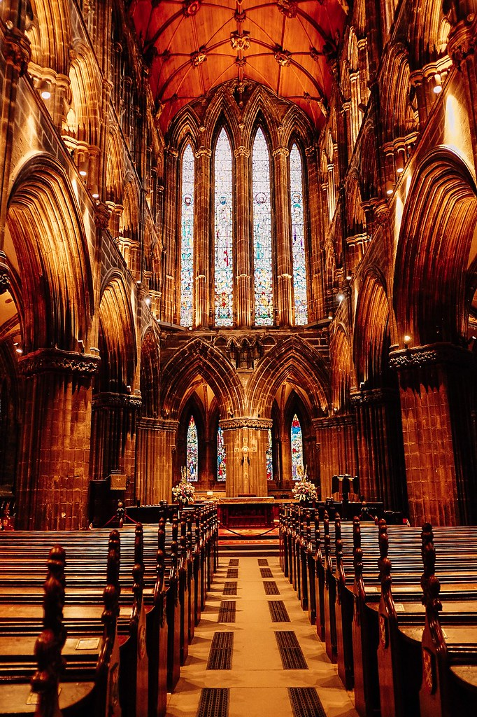 Inside Glasgow Cathedral   Ireland and Scotland Itinerary