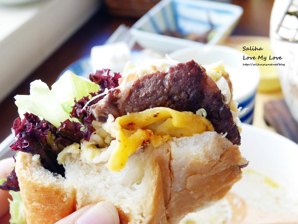 宜蘭羅東餐廳下午茶咖啡廳好吃推薦日暮和風洋食館大份量大胃王飯團早午餐法式麵包 (6)