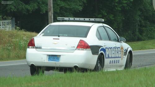 Gordo, Alabama Police - Chevrolet Impala