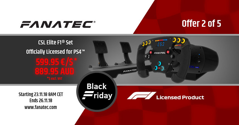 Fanatec 2018 Black Friday Deal 2