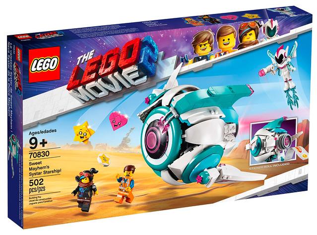 LEGO Movie 2 70830 Sweet Mayhem's Systar Starship 01