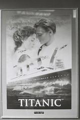 Signed Titanic Poster