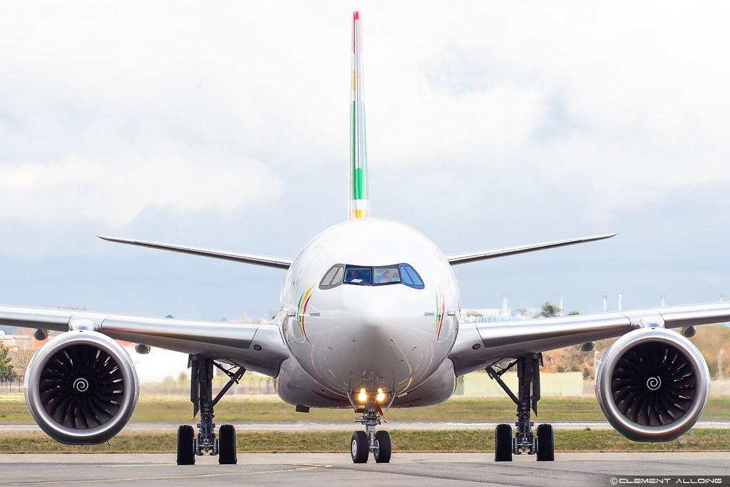 Air Senegal Airbus A330-941 cn 1910 F-WWCM // 9H-SZN